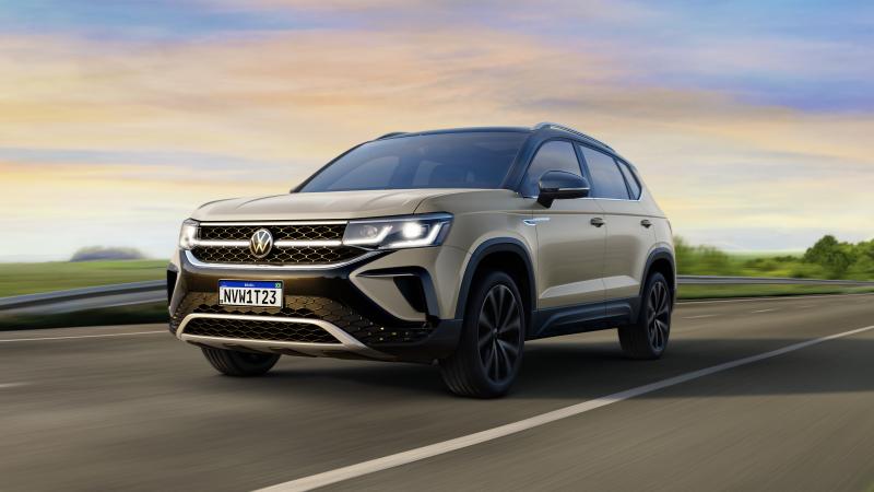 VW revela dimensões do Taos e confirma motor 1.4 TSI de 150 cv - Divulgação/VW