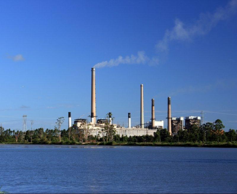 Complexo Termelétrico localizado em Capivari de Baixo consome o carvão produzido na região de Criciúma – Foto: Plinio Bordin/Divulgação/ND