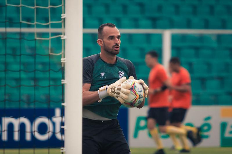 Rodolfo Castro, goleiro do Figueirense; permanência na Série B passa também por ele – Foto: Patrick Floriani/FFC