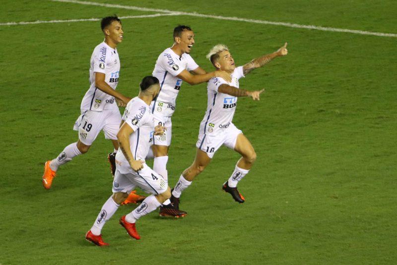 Santos é finalista da Libertadores da América e encara o Palmeiras na grande decisão. Foto: ESTADÃO CONTEÚDO/ND