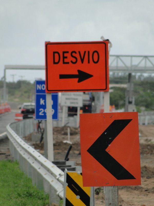 Obras realizadas pela Secretaria da Infraestrutura em rodovias de SC