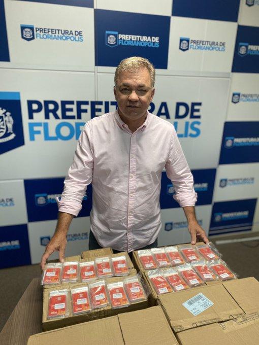 Prefeito de Florianópolis, Gean Loureiro – Foto: Divulgação/ND