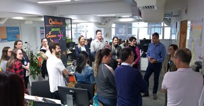 Equipes comemoram case de sucesso, que gerou resultados significativos – Foto: Divulgação