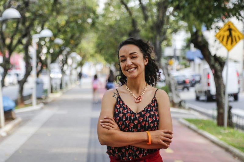 """Manu Vieira: """"Precisamos de uma cidade que gere oportunidades às pessoas"""" – Foto: Anderson Coelho/Arquivo/ND"""
