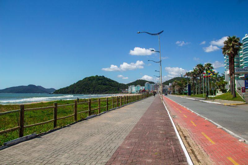 Temperaturas aumentam nesta terça-feira em Itajaí. – Foto: Bruno Golembiewski/ND