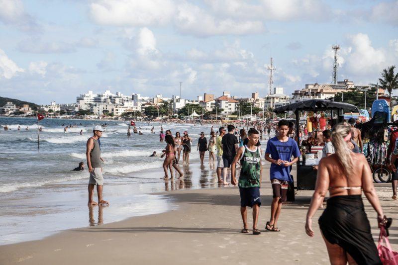 """Projeto """"Ixpia Floripa"""" visa ampliar a fiscalização de aglomerações na Capital – Foto: Anderson Coelho/ND"""