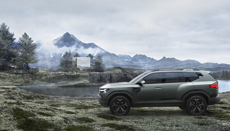 Dacia Bigster Concept será o novo SUV médio da marca romena - Foto: Divulgação/Dacia/Garagem 360/ND