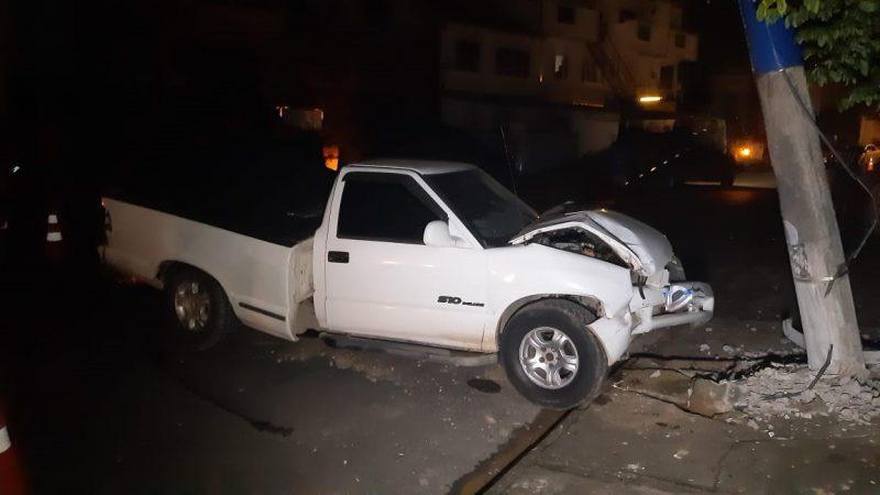 Acidente deixou parte do bairro Iririú sem energia nesta terça-feira (26) – Foto: Ricardo Alves/NDTV