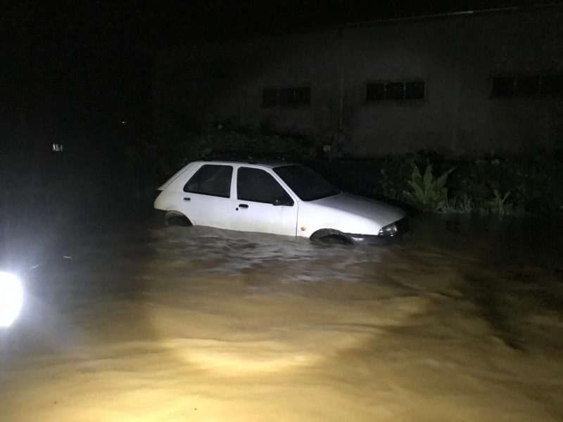 Chuva em Ascurra, Vale do Itajaí – Foto: CBVU/Divulgação