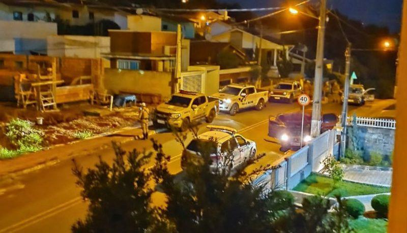 Noite de terça-feira (26) movimentada em Ipumirim em tentativa de assalto – Foto: Rádio Rural/Divulgação/ND