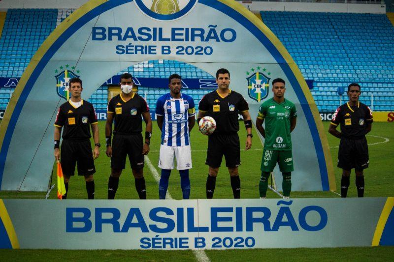 Avaí e Guarani mediram forças pela 37ª rodada da Série B. Para o Avaí só a vitória mantinha o sonho do acesso vivo – Foto: André Palma Ribeiro/Avaí F. C