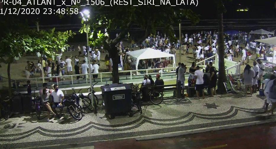Aglomerações foram registradas - SSP/Divulgação/ND