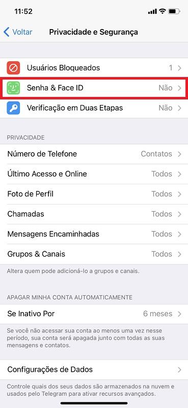 Passo 2 - Crédito: Reprodução/Telegram/33Giga/ND