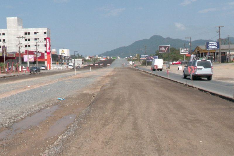 Viaduto de Indaial, na BR-470, será liberado ao trânsito de veículos – Foto: Reprodução / NDTV Blumenau
