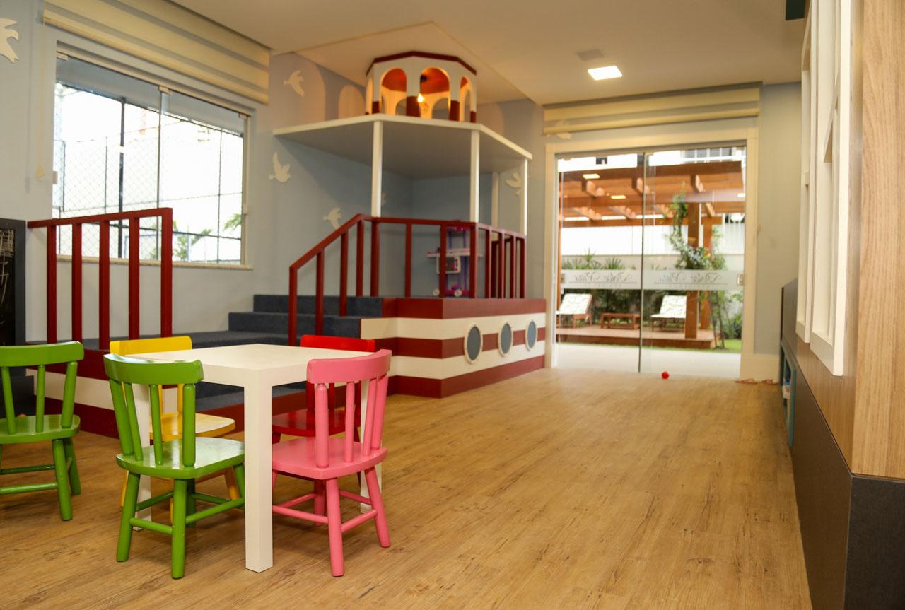 Brinquedoteca faz parte das áreas sociais comuns do Dolce Vitta - AM Construções/Divulgação