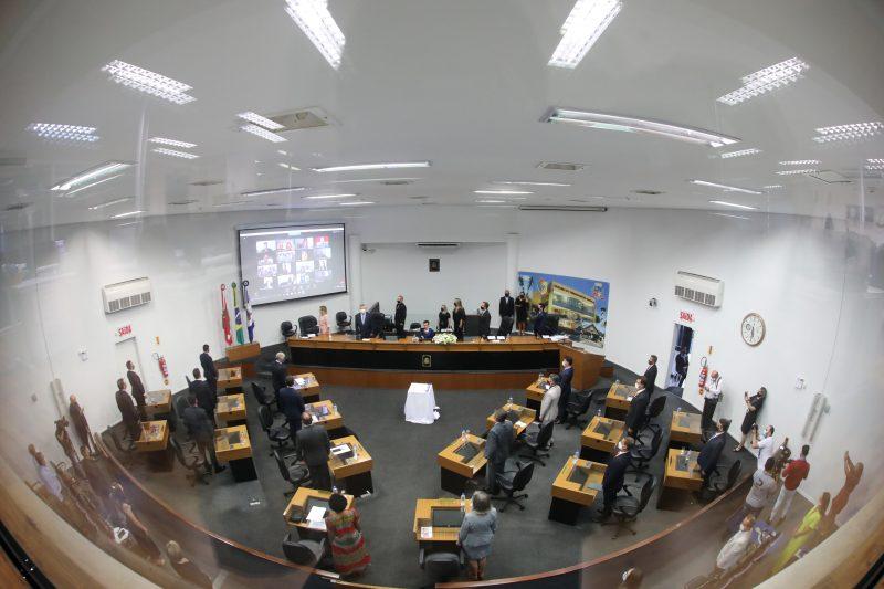 Está marcada para a próxima terça-feira (11) a audiência pública sobre a reforma da previdência em Joinville. O evento vai acontecer no plenário da Câmara e será transmitido online. Veja o que dizem as propostas enviadas pela prefeitura – Foto: André Kopsch/ND