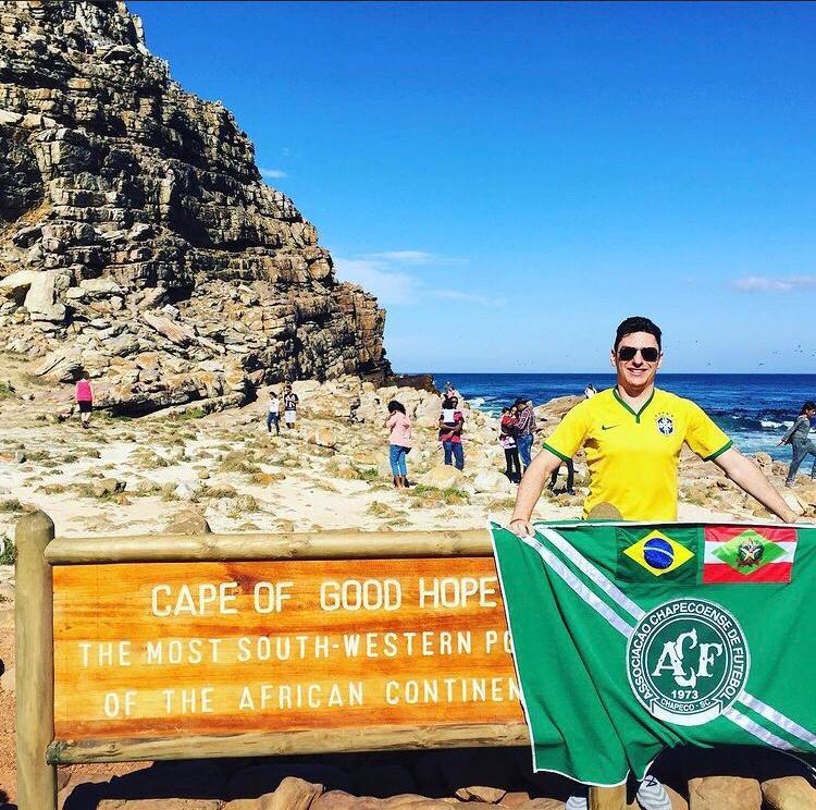 Cabo da Boa Esperança, na África do Sul. – Foto: Arquivo Pessoal/ND