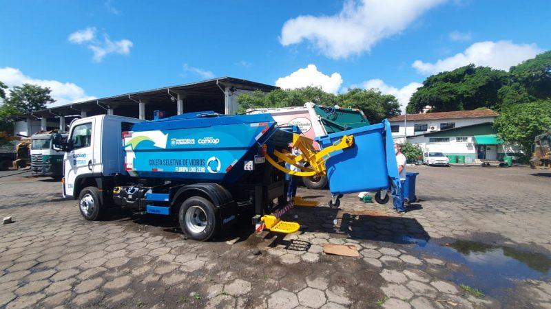 Novo caminhão de lixo da Comcap – Foto: Divulgação/ND