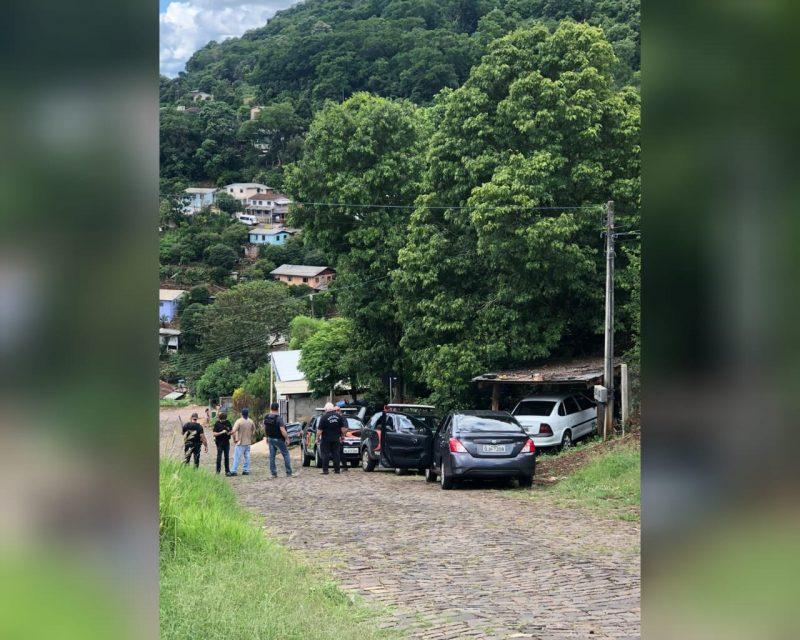 Investigação da Polícia Civil resultou na prisão de três suspeitos do primeiro homicídio do ano em Capinzal – Foto: Polícia Civil/Divulgação/ND