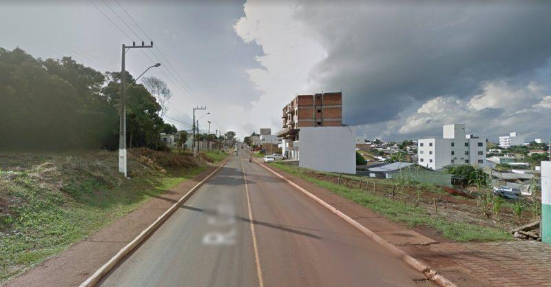 Crime aconteceu na rua Cunha Porã. no maior bairro de Chapecó – Foto: Google Street View/ND