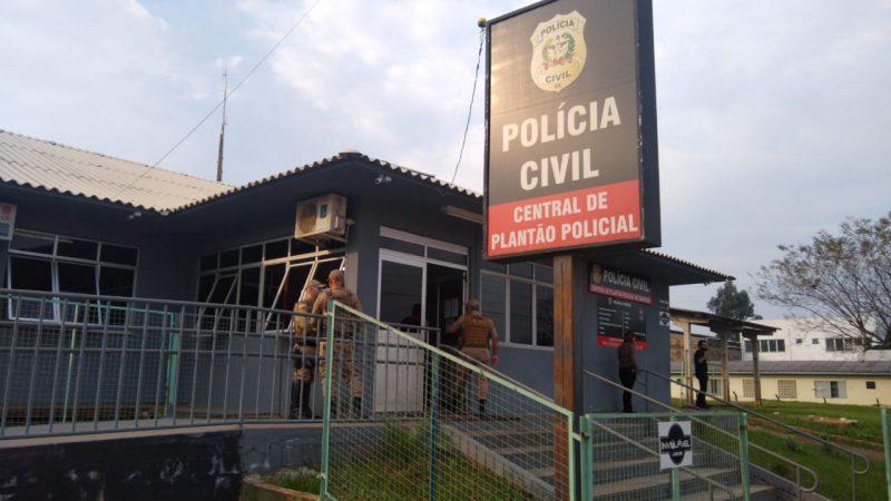 Jovem, suspeito das agressões, foi detido e encaminhado à CPP de Chapecó – Foto: Arquivo ND/Divulgação