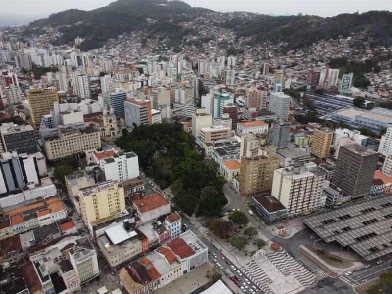 Bairro de Florianópolis tem mais de 40 casos ativos da Covid-19– Foto: Anderson Coelho/Arquivo/ND