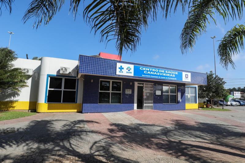 Centro de testagem exclusivo para Covid-19 do Norte da Ilha agora opera no centro de saúde de Canasvieiras – Foto: PMF/Divulgação/ND