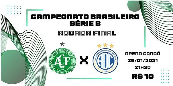 Os ingressos estão sendo vendidos de maneira online. – Foto: Chapecoense/Divulgação/ND