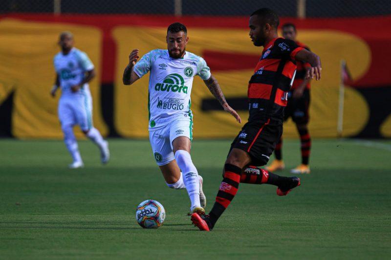 Placar ficou em 0 a 0 contra o Vitória – Foto: Márcio Cunha/ACF