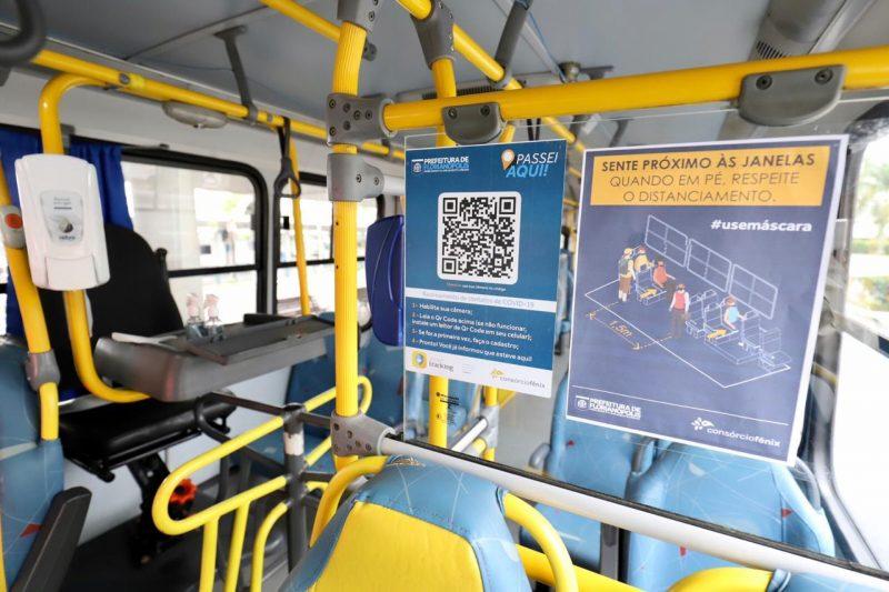 Número de check ins diminuiu nos veículos do transporte coletivo de Florianópolis em relação há alguns meses – Cristiano Andujar/PMF/Divulgação/ND