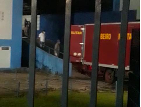 Corpos chegaram ao Pará na madrugada desta quinta-feira (28) – Foto: Reprodução/Record TV Pará