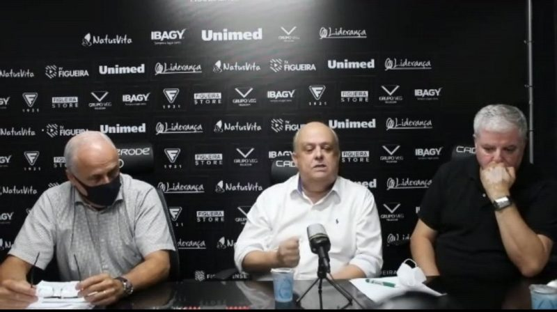 Diretoria garante uma reformulação no clube alvinegro. – Foto: John Léo/Figueirense/ND