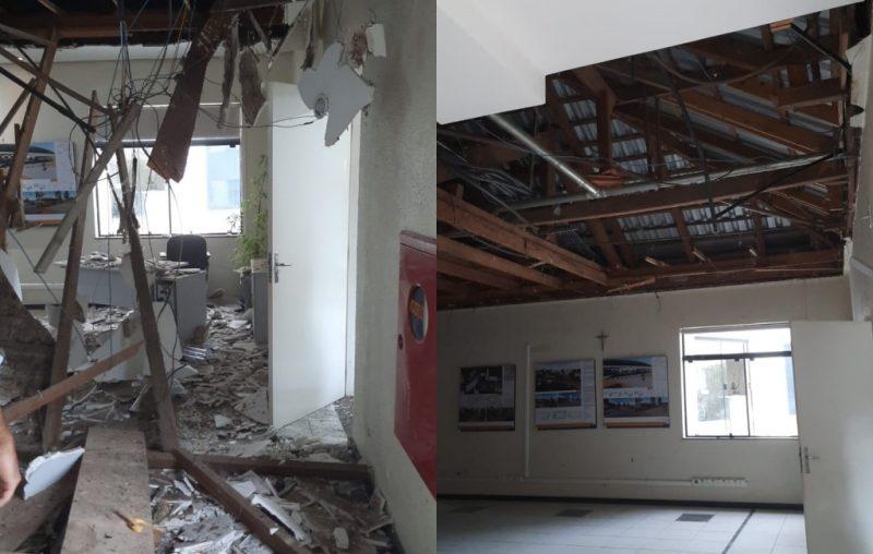 Incidente aconteceu na tarde desta quinta-feira, dia 21 – Foto: Prefeitura de Joaçaba/ND