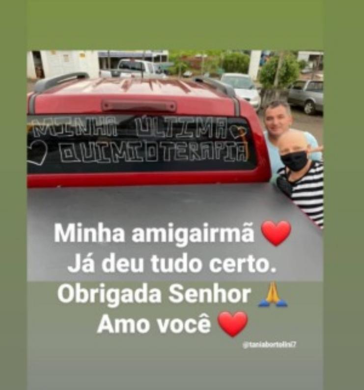 Tânia recebeu várias homenagens – Foto: Reprodução/Instagram/ND