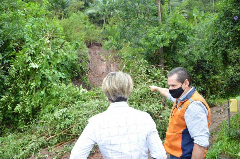 Defesa Civil segue monitorando regiões atingidas pelas chuvas – Foto: Foto: Michele Lamin / Prefeitura de Blumenau
