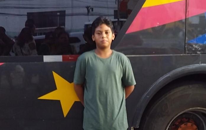 Douglas Patrick veio do Pará para morar com o pai e a madrasta em Florianópolis – Foto: Divulgação/ND