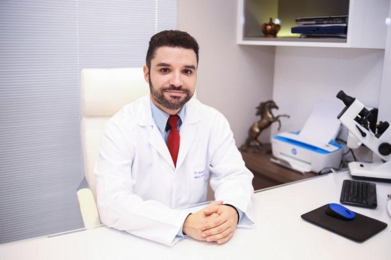 Dr. Rafael Giordani, oftalmologista do Núcleo Integrado de Oftalmologia (NIO) – Foto: Divulgação
