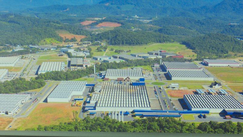 Joinville é a cidade catarinense que mais gera riqueza e a terceira do Sul do país – Foto: Divulgação/ND