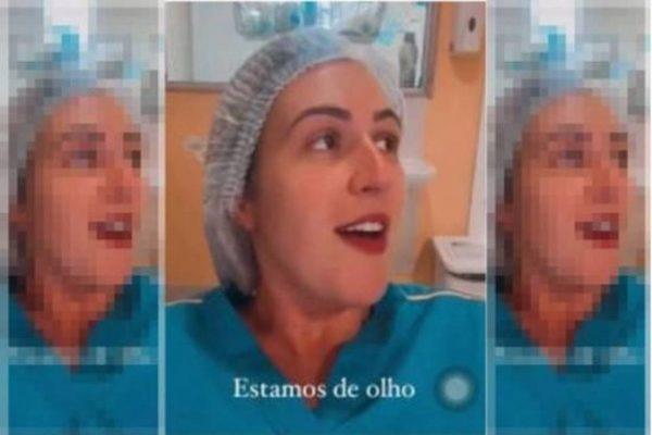 enfermeira demitida