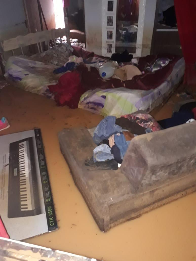 Prefeitura decreta situação de emergência em Guabiruba por causa da enxurrada - PMG/Divulgação