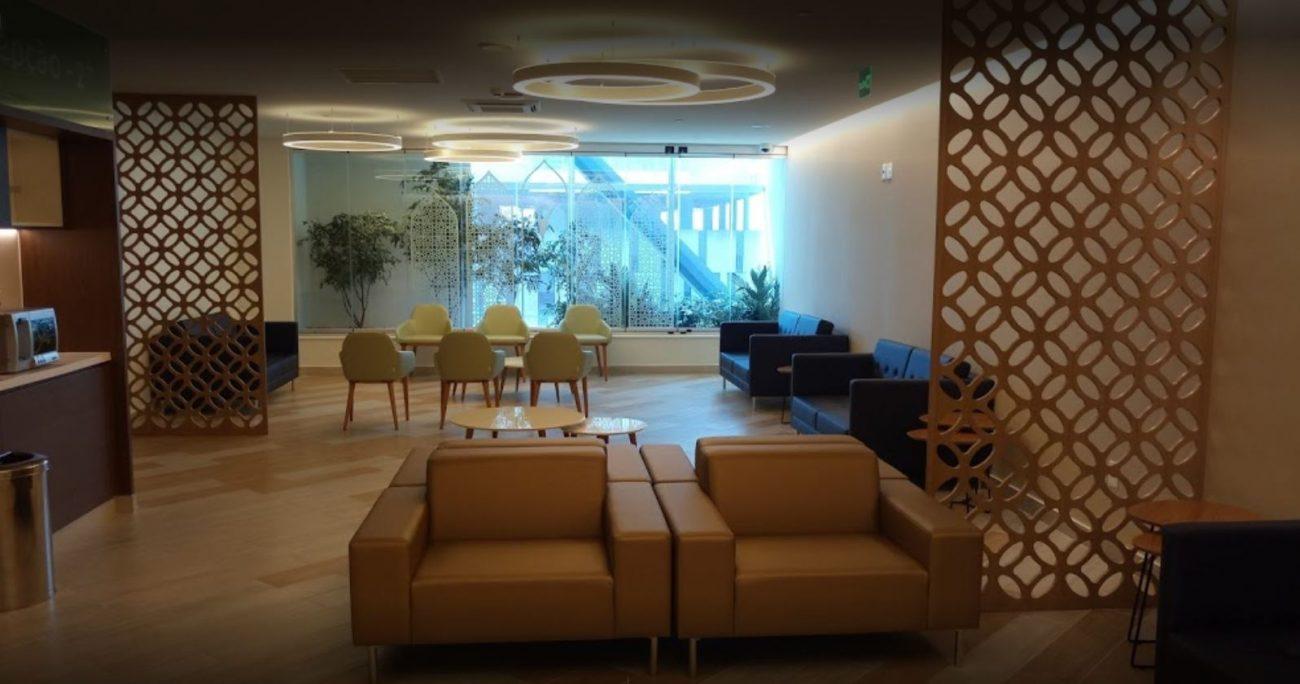 Sala de Espera e Lounge - Reprodução