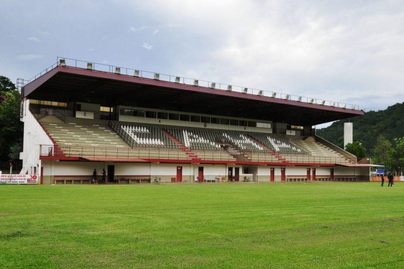 Estádio da Baixada, em Ibirama, será a casa do Metropolitano no Catarinense – Foto: Orlando Pereira/Divulgação