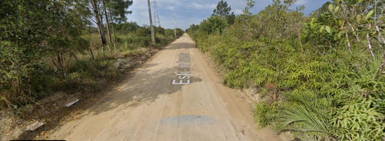 Estrada do Espanhol, em Palhoça, onde ocorreu o crime