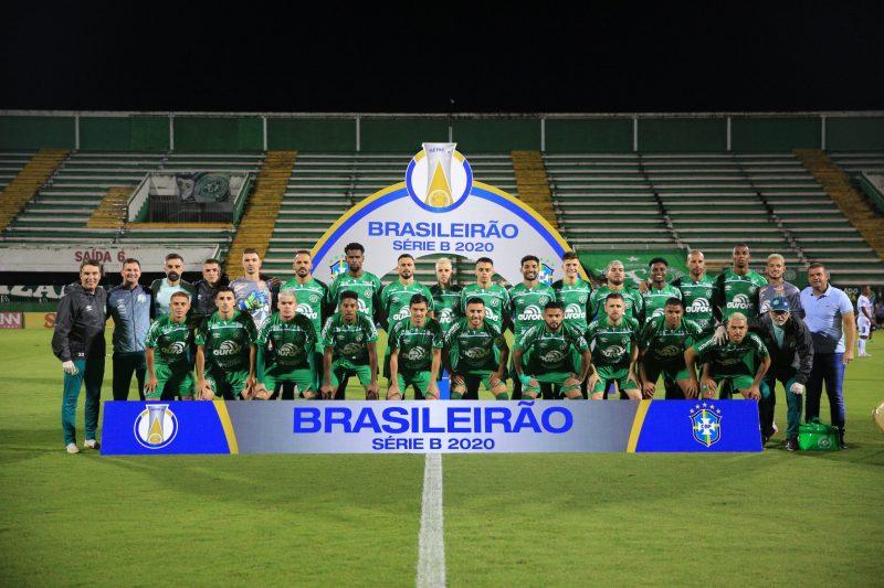 Chapecoense, campeã da Série B do Campeonato Brasileiro de 2020. Favoritismo para a conquista do campeonato estadual – Foto: Márcio Cunha/ACF/Divulgação