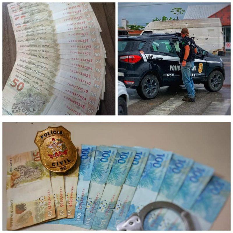 Dois fiscais da prefeitura de Porto Belo são presos acusados de corrupção. – Foto: Polícia Civil/Divulgação