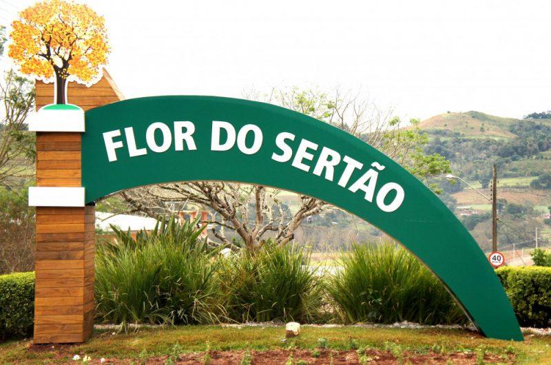 O pequeno município de Flor do Sertão é uma das quatro cidades de SC que ainda não contabiliza mortes por Covid-19 – Foto: Prefeitura municipal/Divulgação/ND