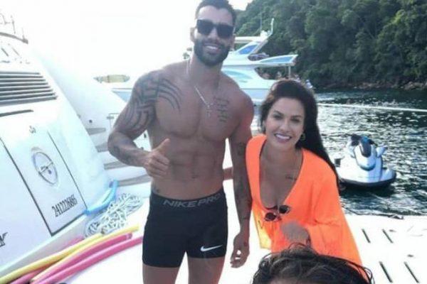 Gusttavo Lima e Andressa Suita foram vistos juntos em Angra dos Reis – Foto: Redes sociais