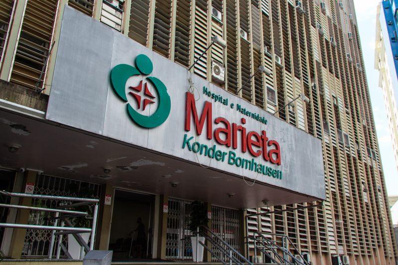 Corpos são trocados em Itajaí e hospital Marieta admite erro de funcionário terceirizado. – Foto: Bruno Golembiewski/ND