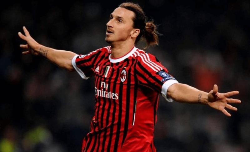 Ibrahimovic, do Milan, envolvido em suposto caso de racismo – Foto: Divulgação