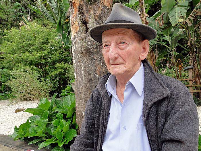 Foto de quanto Alexandre completou 100 anos de idade – Foto: Divulgacão/O Trentino/ND